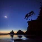 Magical Twilight on the Oregon Coast